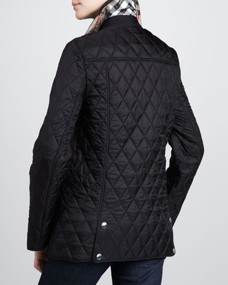 Quilted Snap Coat