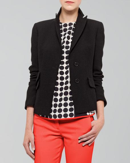 Peaked-Lapel Jacket