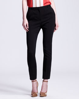 Lanvin Slim Cropped Pants