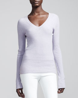 THE ROW Cashmere Cable Sweater