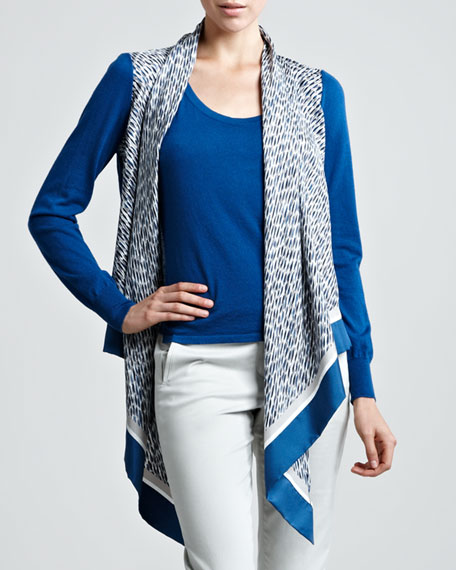 Sweater & Scarf Twinset