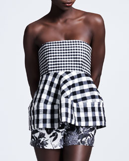 Stella McCartney Gingham Bustier