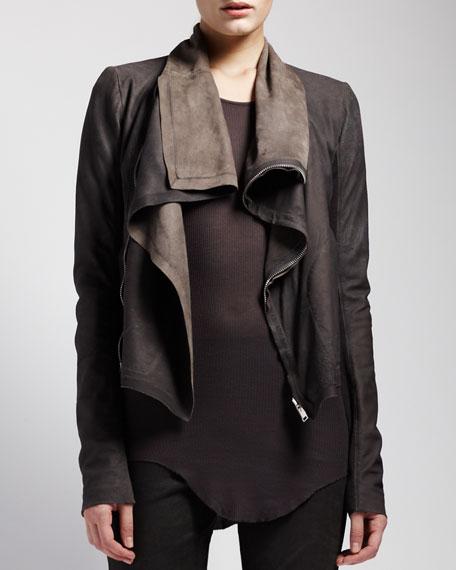 Blistered Leather Jacket