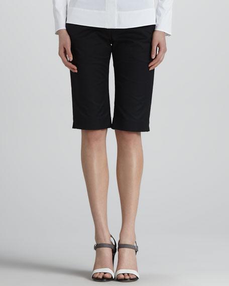 Nicolai Bermuda Shorts, Black