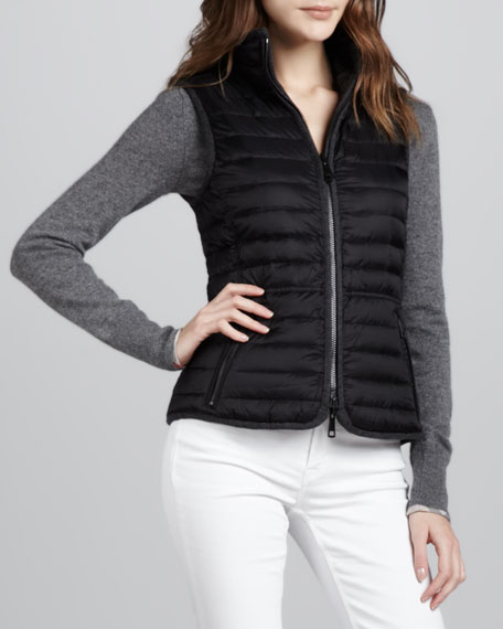 Reversible Down-Fill Cable Vest