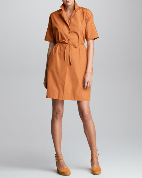 Ivette Poplin Shirtdress