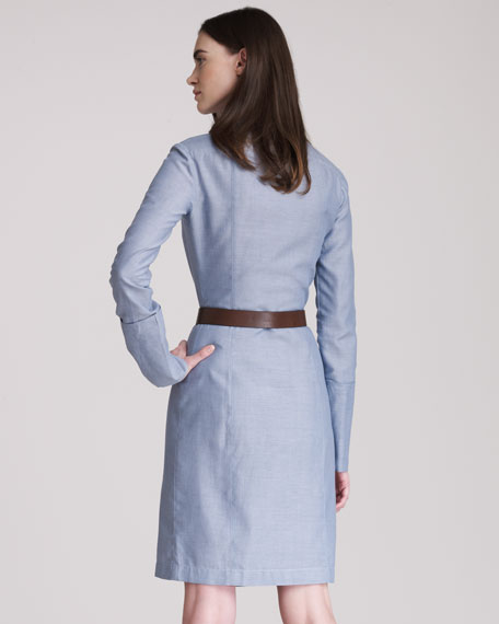 Cotton Shirtdress