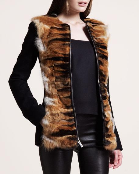 Chevron Fox-Front Jacket