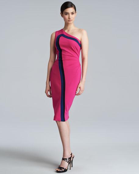 Dandelion Dondi One-Shoulder Jersey Dress