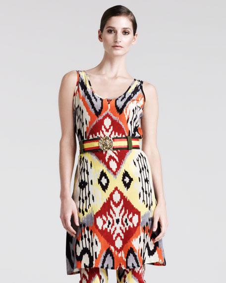 Bushbuck Ikat-Print Tunic-Top-Dress
