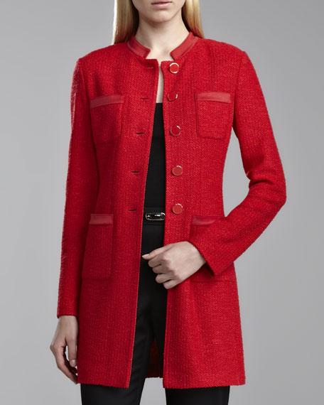 Cipressa Bouclette Topper Jacket