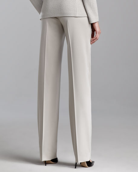 Diana Venetian Pants, Dark Limestone