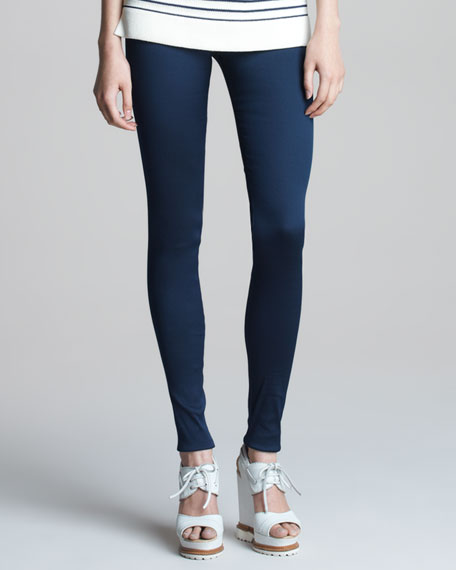 Double-Faced Twill Leggings