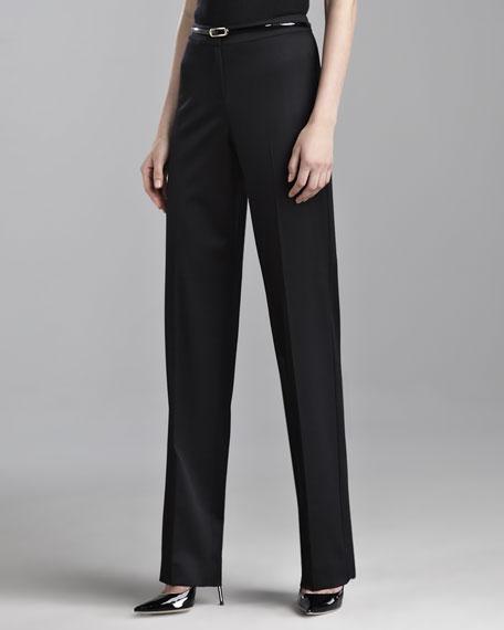 Diana Venetian Pants, Caviar