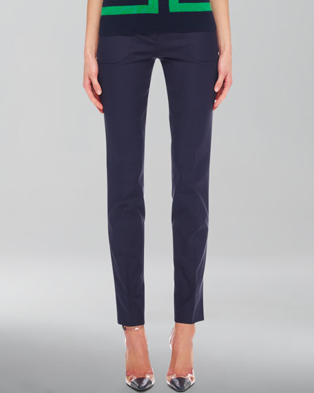 Slim Cropped Pants