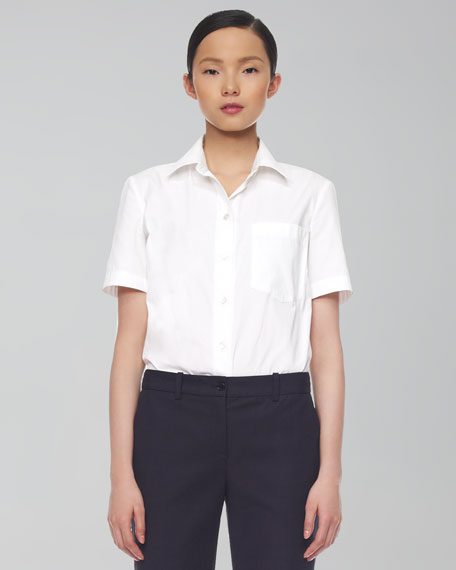 Poplin T-Shirt Blouse