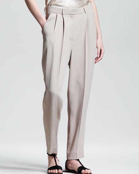 Pleated Suit Pants