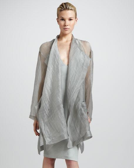 Glassy Silk Topper, Porpoise