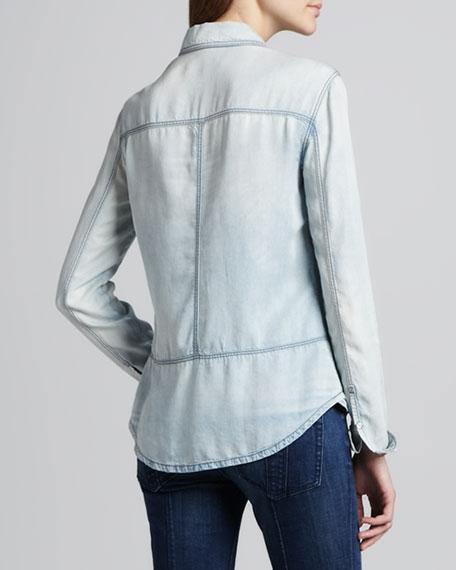 Chambray Western Shirt