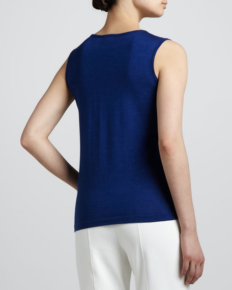 Wool-Silk Shell, Blue