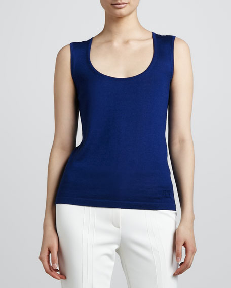 Wool-Silk Shell, Blue