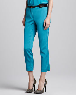 Etro Cropped Slim Pants