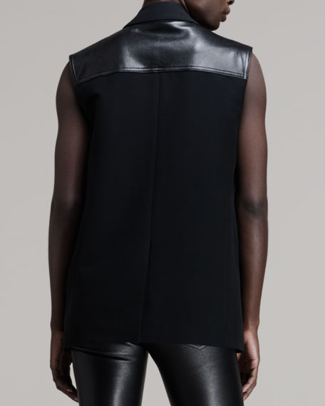 Hybrid Layered Moto Vest