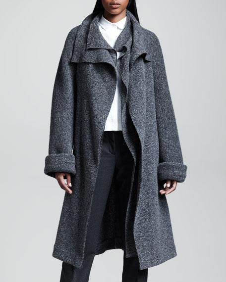 Felted Wrap Coat