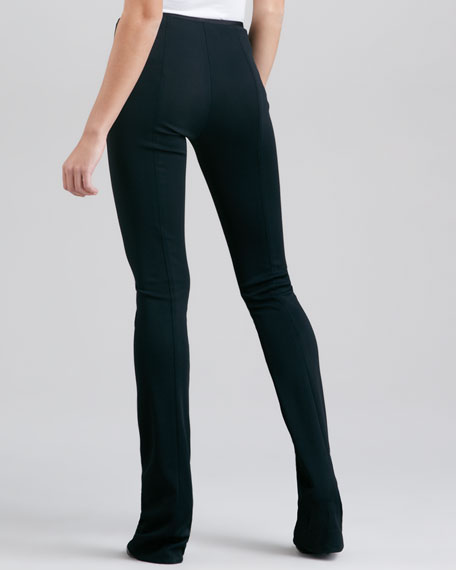 Fluid Crepe Body Pants IV, Black