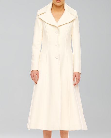 Wool Princess Coat