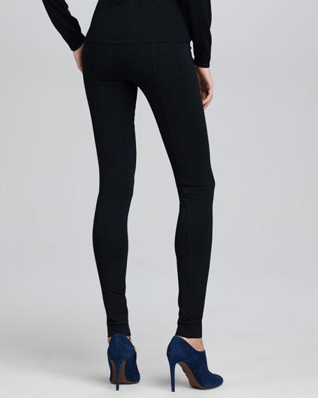 Heavy Jersey Leggings, Black