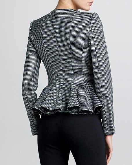 PEPLUM JACKET