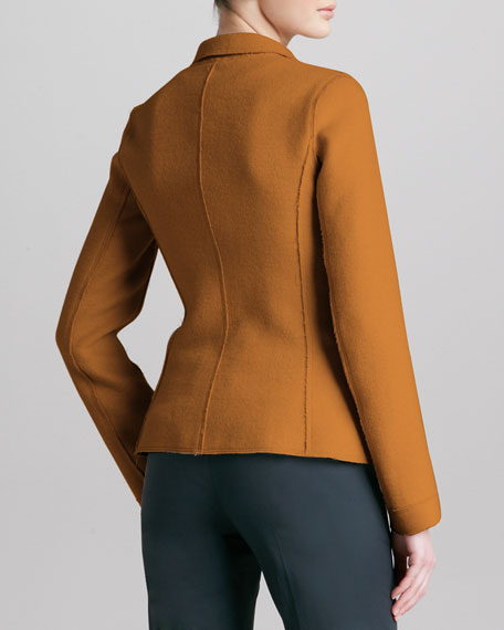 Double-Face Sport Wool Jacket