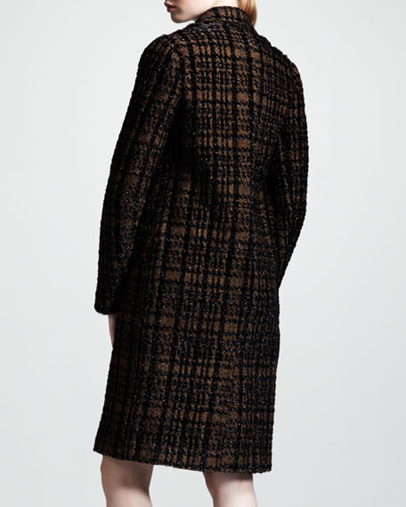 Prince-of-Wales Three-Button Coat