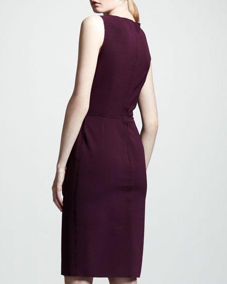 Sleeveless Origami Dress