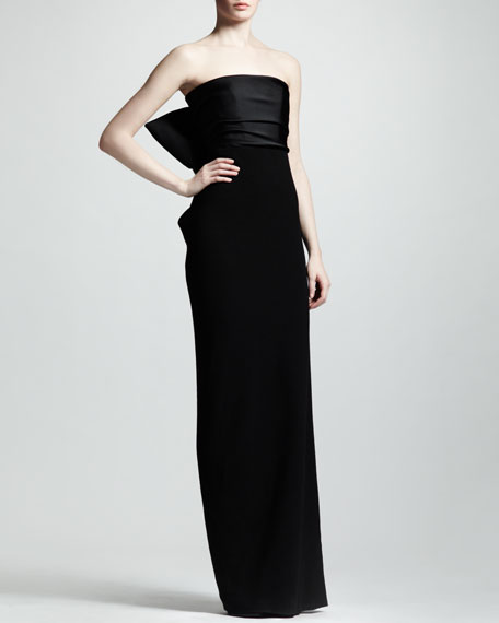 Strapless Corset Gown