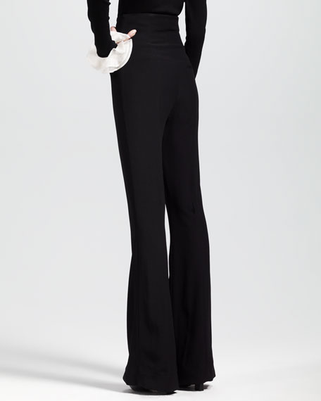 High-Waisted Bellbottom Pants