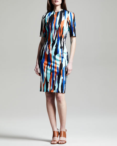 Raquel Printed Shift Dress