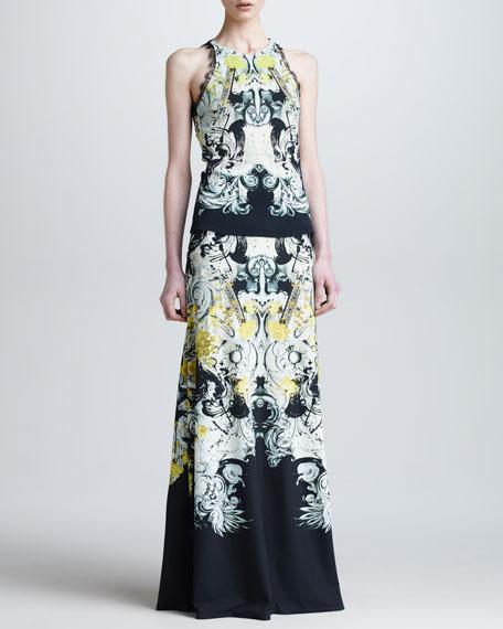 Full-Length A-Line Skirt