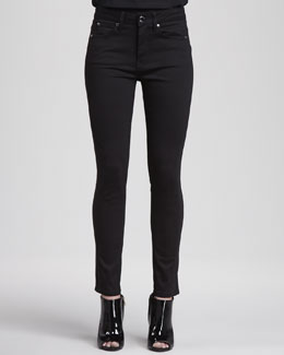 Burberry London Jersey Side-Panel Jeans