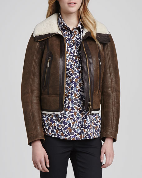 Shearling-Lined Jacket