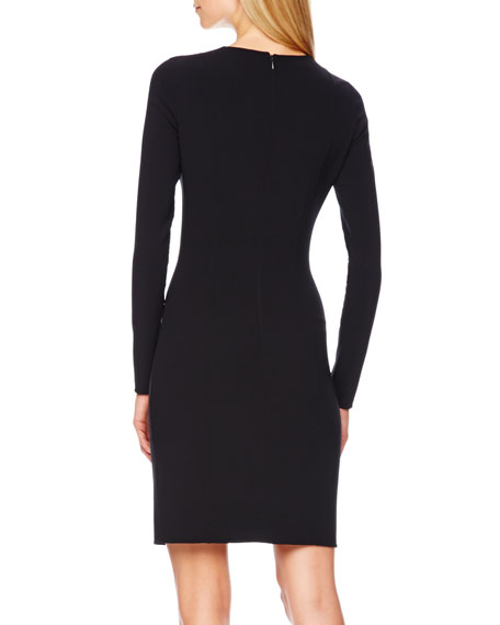 Stretch-Wool Dress
