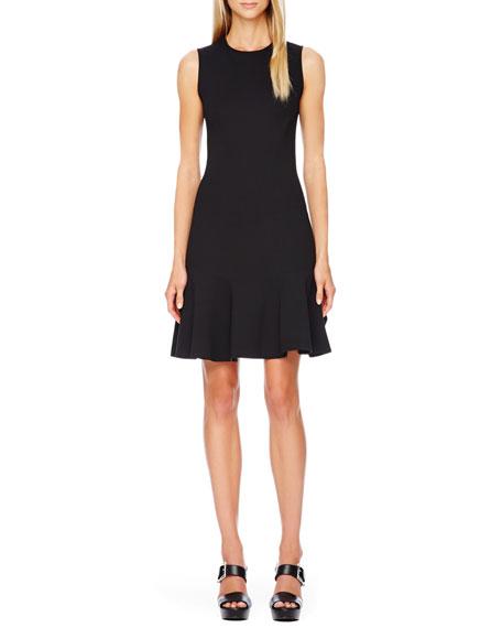 Flare-Skirt Dress