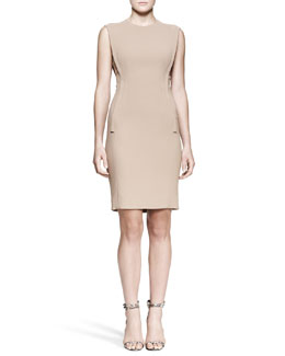 Alexander Wang Exposed-Dart Sheath Dress