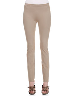 Donna Karan Straight Leg Body II Pants, Khaki