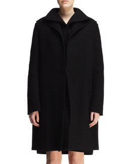 Lanvin Double-Layer Folded Coat