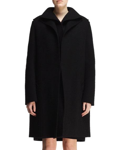 Double-Layer Folded Coat