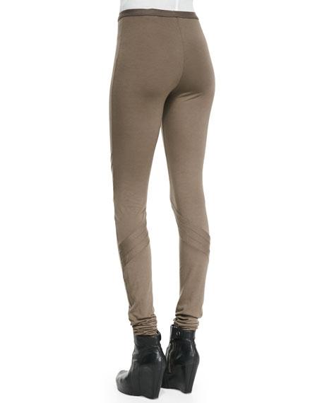 Lightweight Pull-On Jersey Leggings