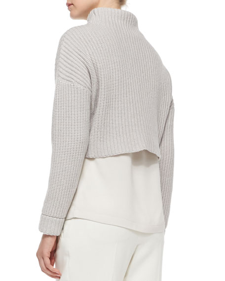 Cropped Cashmere Soul Sweater