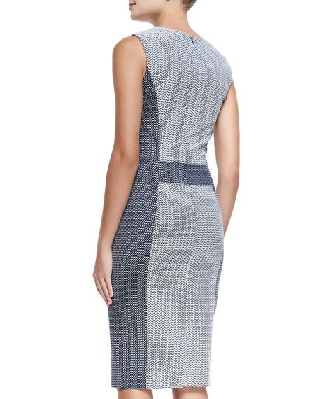 Novelty Sleeveless Threadwork Dress
